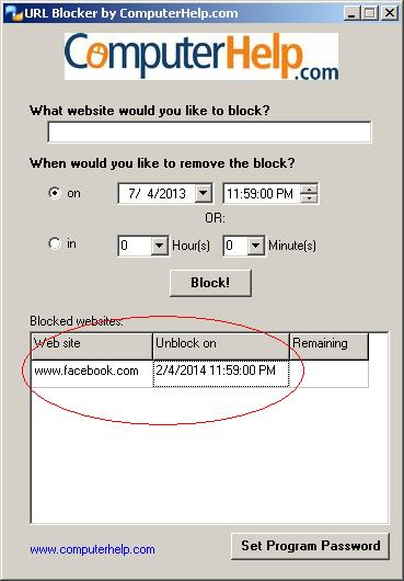Block FB Irreversibly!