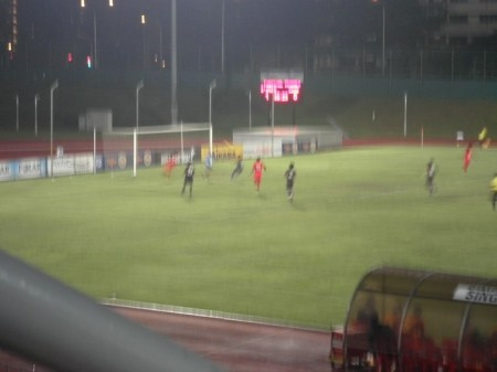 Gol kedua oleh Agu Casmir