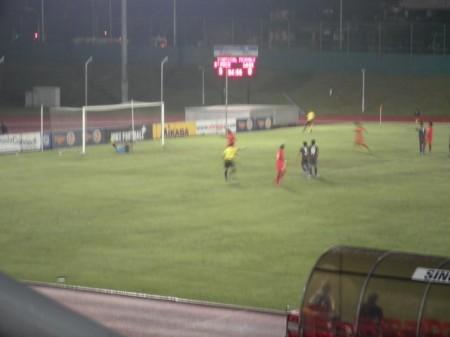 Gol keempat oleh Agu Casmir
