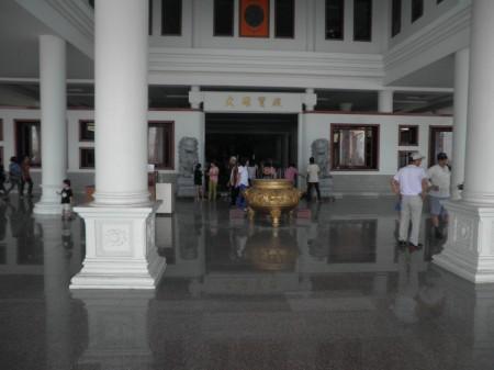 Inside Maha Vihara Duta Maitreya