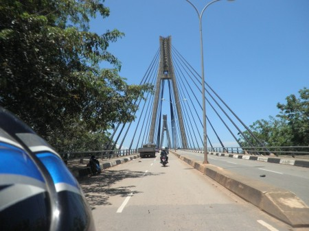 Towards Barelang bridge