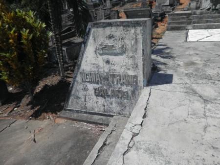 Nghia Trang graveyard