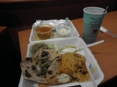 Makanan vegetarian ala India